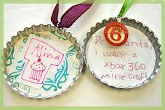 Super Jumbo Cap - children's art and Christmas list