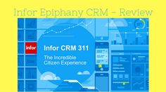 infor Epiphany CRM is considered to be among the most comprehensive CRM software that are present in the market. It integrates various departments of your business like marketing, service, and sales, in a seamless fashion.    This particular software is based on B2B and B2C solutions present tod