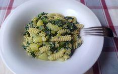 Pasta risottata con foglie di zucchina - Piatto leggero
