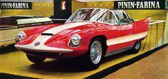 "Pininfarina Alfa Romeo 6C 3000 CM body type 2 ""Superflow II"" 1956"