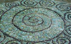 Create a Pebble Mosaic | Fine Gardening