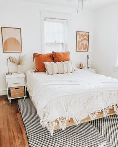 Home Interior Design .Home Interior Design Room Ideas Bedroom, Home Decor Bedroom, Bedroom Inspo, Bohemian Bedroom Decor, Decor Room, Orange Room Decor, Pink Home Decor, Bedroom Signs, Diy Bedroom