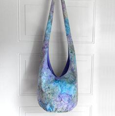 Hobo Bag Cross Body Bag Hippie Purse Sling Bag Boho by 2LeftHandz