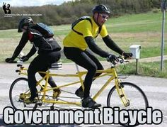 Going where government goes at government speed.