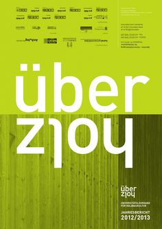"""Annual report on the activities of the certificate program for timber construction """"überholz"""" at the University of art and industrial design, Linz Certificate Programs, University, Ads, Activities, Poster, Design, Linz, Annual Reports, Design Comics"""