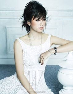 Foto Han Hyo Joo di Majalah W Korea Edisi Mei 2013