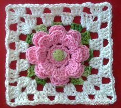Tejiendo Arte en Crochet: Square and Coasters - Estado Haciendo Lo que él ...