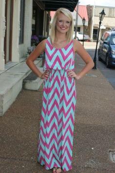 Watermelon Crawl Maxi Dress