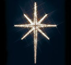 Diy Outdoor Christmas Star Large Lights Nations House