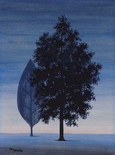 La clairvoyance(ca. 1962) - René Magritte
