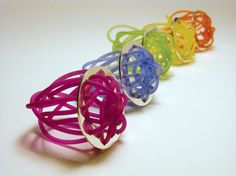 Liliana Lé - Si Ring - Sterling silver and silicone - 2004