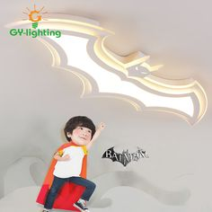 Cartoon Batman Children Lights Warm Personality Bedroom Lights Baby Room Eye Protection Lamps For Children Baby Creative Gift home office idea * AliExpress Affiliate's Pin. Locate the AliExpress offer simply by clicking the image Wall Lights, Ceiling Lights, Kids Lighting, Eye Protection, Bedroom Lighting, Creative Gifts, Baby Room, Baby Kids, Dibujo