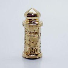 14k gold vintage FRENCH KIOSK charm PARIS MOULIN ROUGE