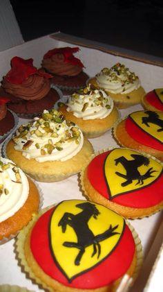 Cupcake Ferrari