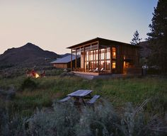 i will have this one day: the open space, the house, the fire pit, the sunset and my hubby there to share it with.