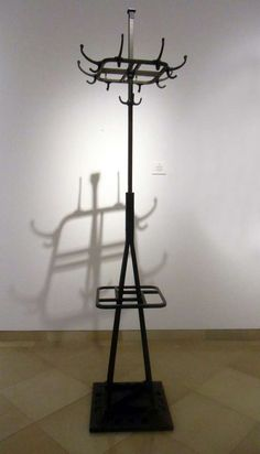 Coat Stand Adolf Loos Attributed Design 1913