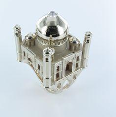 Bague Taj Mahal #tournaire #jewels #Architecture #jewelry #luxe #TajMahal