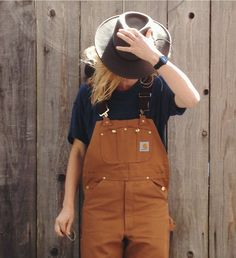 "Overalls have been trending for a couple years now but I suppose it's about time utilitarian women's clothing became a thing. ""She could be a farmer in those clothes"""