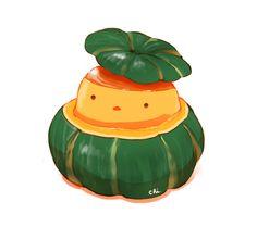 日本語でかぼちゃ、英語でパンプキン、フランス語でポティロン。どれも語感が可愛い。