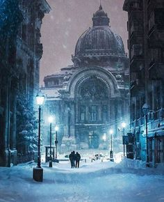 #architecturedose Tag a Travel Lover!  Snowy Night in Bucharest Romania Photo by: ( @cristihancu ) Make sure to follow ( @architecturedose ) __________ #buildings #cityphotography #igersromania #igersbucharest #town #oldtown #facade #photographerslife #architecturelover #cityphotographer #igersphoto #cityphotography #townview #snow #streets #earthpix #earthpic #snowynight #architecturedaily #photodaily #archishots - Architecture and Home Decor - Bedroom - Bathroom - Kitchen And Living Room…