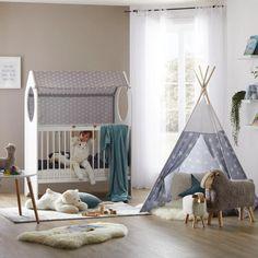 Gitterbett in Weiß online bestellen Toddler Bed, Modern Living, Furniture, Home Decor, Bed, Lattices, Oak Tree, Child Bed, Interior Design