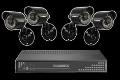(CLICK IMAGE TWICE FOR DETAILS AND PRICING) Security cameras dvr system with 4 outdoor night vision cameras. Edge 4 channel wired DVR security camera system. See More Home Security at http://www.ourgreatshop.com/Home-Security-C235.aspx