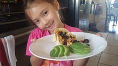 Tacos ouverts aux haricots noirs et au riz #RegardeCeQuOnAFait