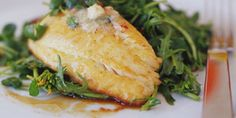 Pan-seared Crappie With Zesty Lime Butter