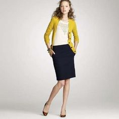 Totally my style: semi formal professional / business attire at the office, bodysuit, shirt, skirt and more (for women)