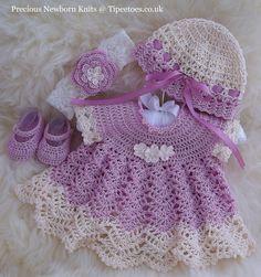 Newborn Dress Set