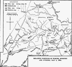 Battle of the Wilderness, 4 May 1864