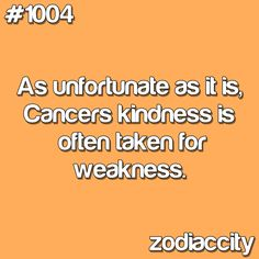 Daily updated fun facts on the zodiac signs. Cancer Zodiac Facts, Cancer Moon, Cancer Quotes, Zodiac City, My Zodiac Sign, Zodiac Quotes, Astrological Sign, Viria, Be Kind