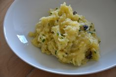 purée olive noire & ciboulette