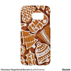 Gingerbread Christmas Samsung Galaxy S7 Case