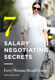 7 Expert Tips On How To Negotiate Your Salary & Get Paid What You're WORTH | @stylecaster