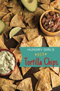 When it comes to scooping up dips, tortilla chips are the reigning champs. But forget oily, fried, store-bought chips -- whip up your own baked tortilla crisps! Just multiply my super-easy recipe to serve the size of your crowd. 1/2 recipe (12 chips): 103 calories   1.5g fat   PIN!