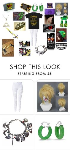 """untitled #37"" by undeadzelda ❤ liked on Polyvore featuring WithChic, Nintendo and Bling Jewelry"