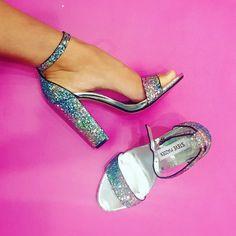 Leave a little sparkle wherever you go. #newshoes #glittereverywhere #sparkleyourlife #treatyoself #inlove #stevemadden #dubai