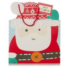 George Home Santa Large Gift Bag