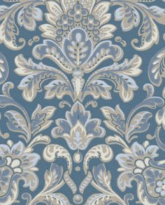 Home Wallpaper, Wallpaper, Inspiration, Printing On Fabric, Ornate, Family Living Rooms, Wall Painting, Prints, Damask