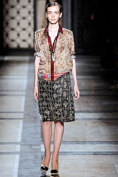 Dries Van Noten Spring RTW2010
