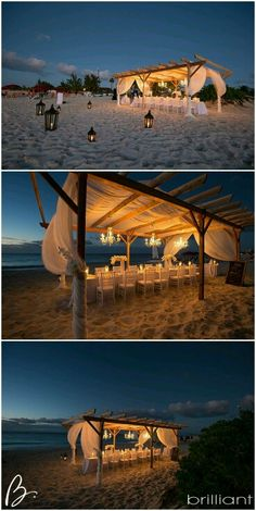 My Inspiration for our Beach Reception.  Azul Sensatori Resort--Riviera Maya Mexico