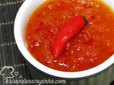 Brisando na Cozinha: Geleia de pimenta