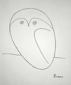 Pablo Picasso drawings | Owl Painting by Pablo Picasso - Owl Fine Art Prints and Posters for ...