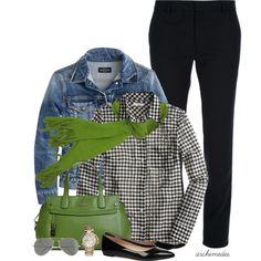 """""""Get Some Green"""" by archimedes16 on Polyvore"""