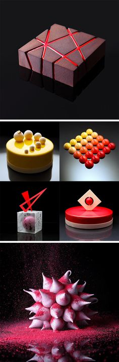 Unusual Geometric Cake Designs by Dinara Kasko (Cake Decorating)