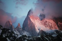 #1652 - Mountain Heart - Aiguille Poincenot - Patagonie 2015