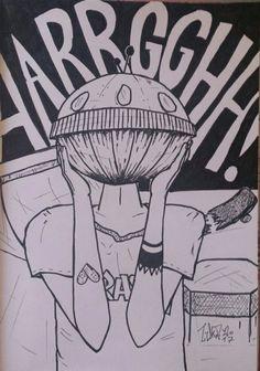 Aarrgghh! Sketcbook