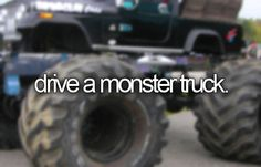 Drive a Monster Truck and Run Over Cars