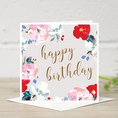 16 best stylish greeting cards images on pinterest stylish happy birthday card from stephanie dyment at edie rona m4hsunfo